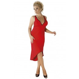 red long dress M/1073 by...