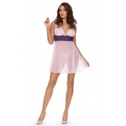 pink babydoll D-337 by...