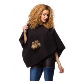 Hooded nponcho cut-out...